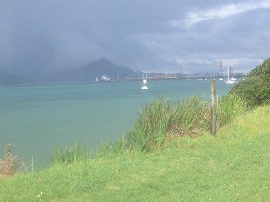 Whangarei, Selandia Baru: Over cast day but still beautiful