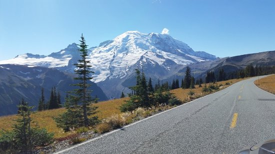 Mount Rainier: Oner of many great views