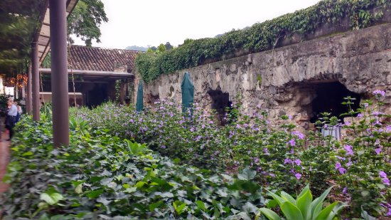 Casa Santo Domingo: The whole hotel is fortification