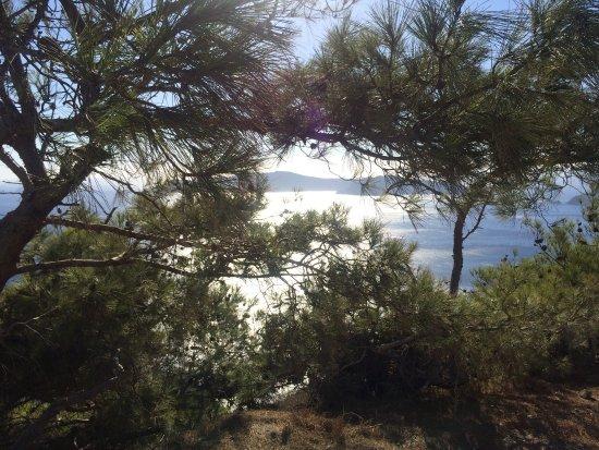 Санторини, Греция: Hiking Trail Fira - Oia