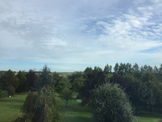 Gowran, Irlanda: View from our room