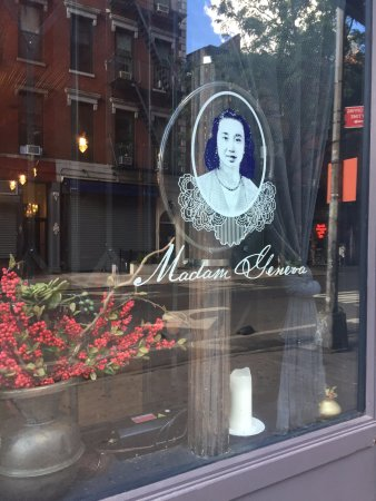 Photo of Asian Restaurant Madam Geneva at 4 Bleecker St, New York, NY 10012, United States