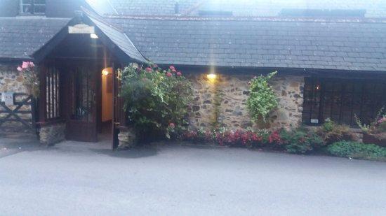 Honiton, UK: Hotel entrance