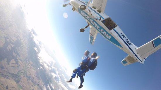 Salisbury, UK: This is me jumping from 15000 ft