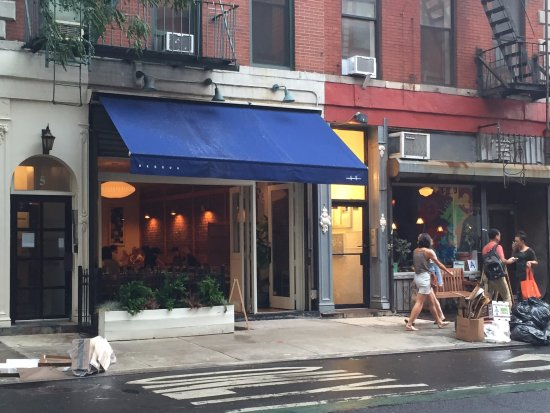 Photo of Restaurant Bessou at 5 Bleecker Street, New York City, NY 10012, United States