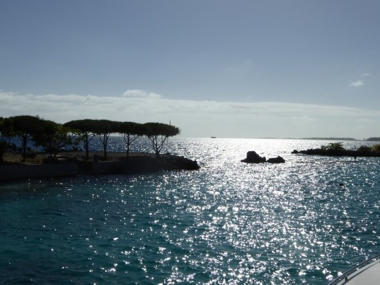 Manihi, เฟรนช์โปลินีเซีย: Vue du lagon