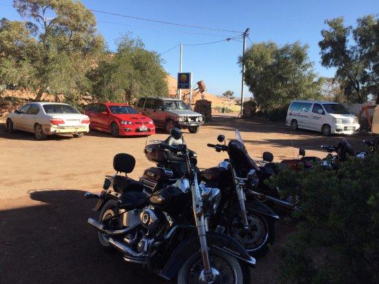 Coober Pedy, Australia: good parking