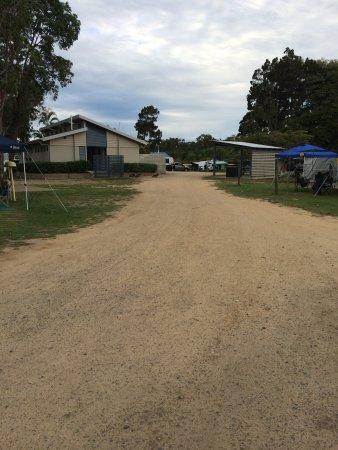 Woodgate, Australia: Sand YUK gets into everything