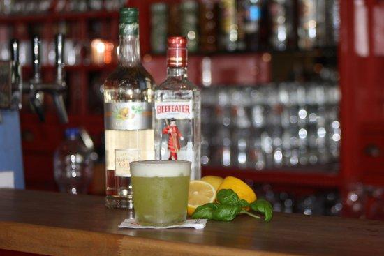 Wangerooge, Alemania: Basilikum und Gin