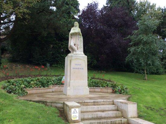 St Boniface Statue