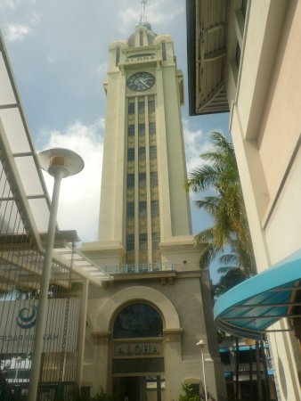 Aloha Tower Marketplace: the tower