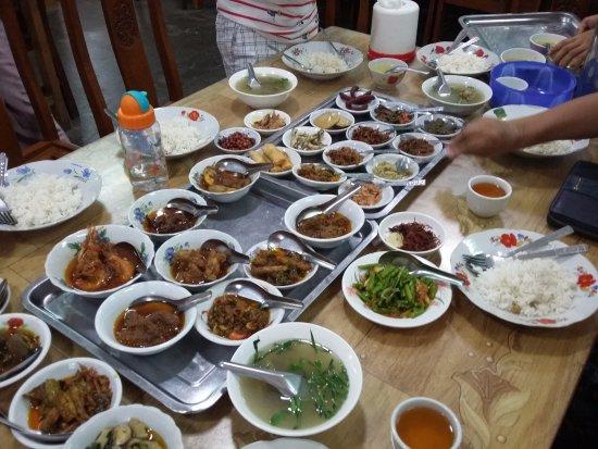Nyaung U, Birmania: Myo Myo Myanmar Restaurant