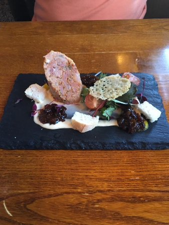 Southwell, UK: Deconstructed Ploughmans. One of our Chefs Specials