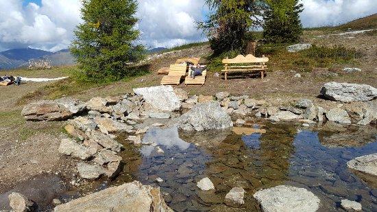 Sesto, إيطاليا: Area Relax alla fine del Percorso