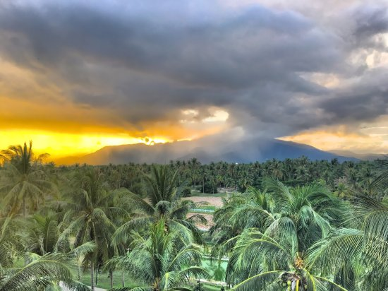 Prachuap Khiri Khan, Tailandia: Luz del atardecer, bonito entorno. Muy tranquilo