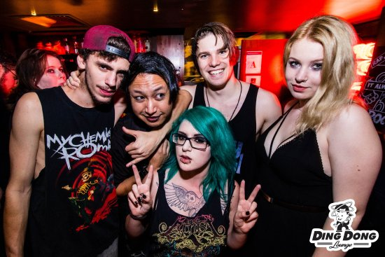 Emo night - Picture of Ding Dong Lounge, Auckland Central ...
