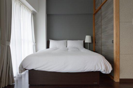 Kawaguchi, Japan: Chic double bed