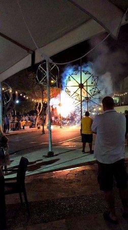 Feast week fireworks