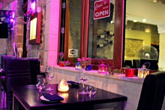 Senglea, Malta: Outside seeting