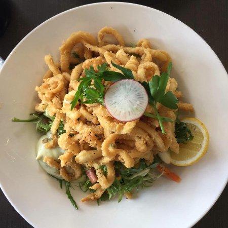Ferntree Gully, Australia: Calamari salad