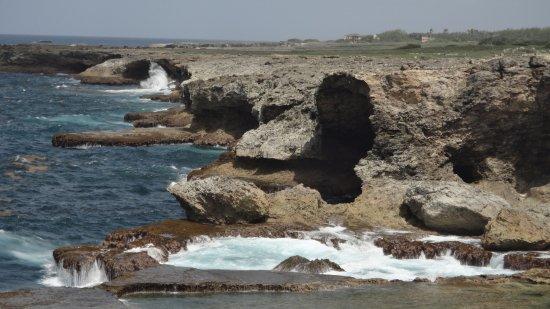 Saint Lucy Parish, Barbados: la meravigliosa costa fuori della grotta