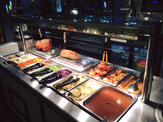 Draycott in the Clay, UK: Boars Head Carvery