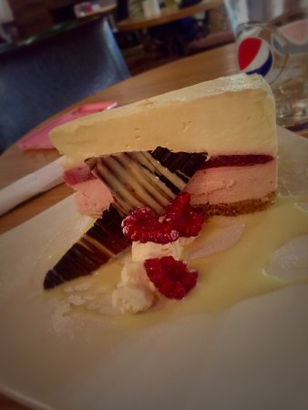 Draycott in the Clay, UK: Boars Head homemade cheesecake of the week