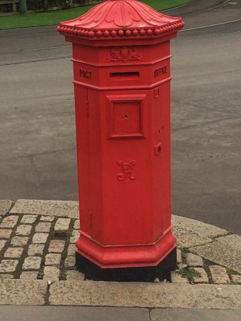 Beamish, UK: Post box