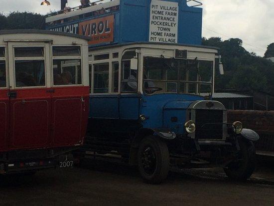 Beamish, UK: Old buses