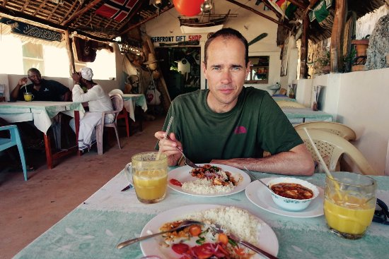 Lamu Island, Kenya: Fresh and delicious