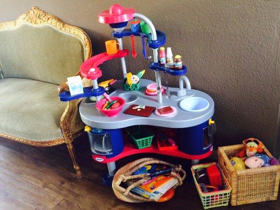 Hürth, Alemania: Spielecke für die Kleinen im Café Goldig