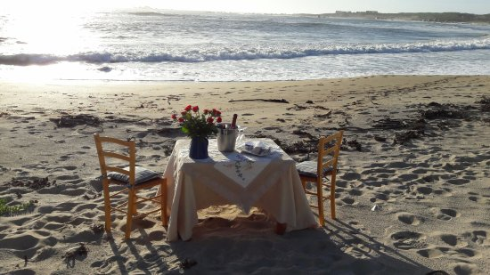 Abalone Guest House: Making sure an engagement is very special for our guest.