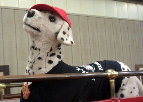 Dalmation Fire Dog Stuffed Animal Flame Museum Of Firefighting