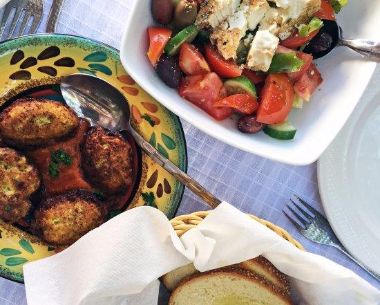 Lofou, Cypern: Local lunch
