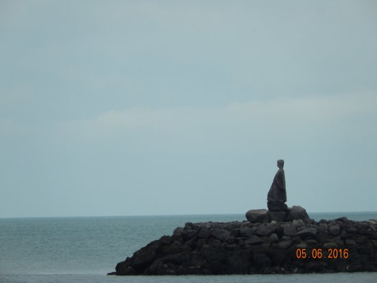 Keflavik, Ισλανδία: Statue