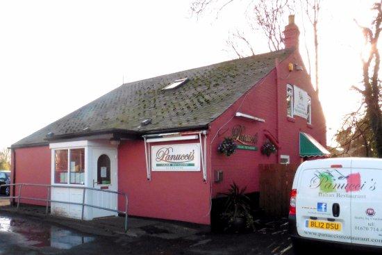 Cramlington, UK: Panucci's on a cold, damp Feb. day.