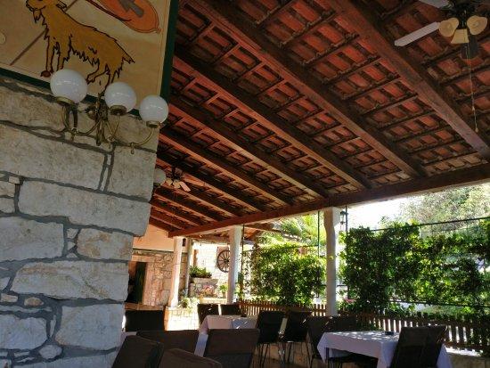 Krsan, كرواتيا: вид террасы