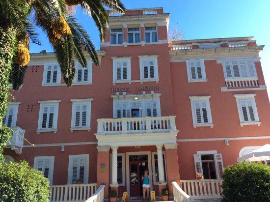Hotel Zagreb Bild