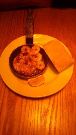 Crewe, UK: Garlic prawns_large.jpg