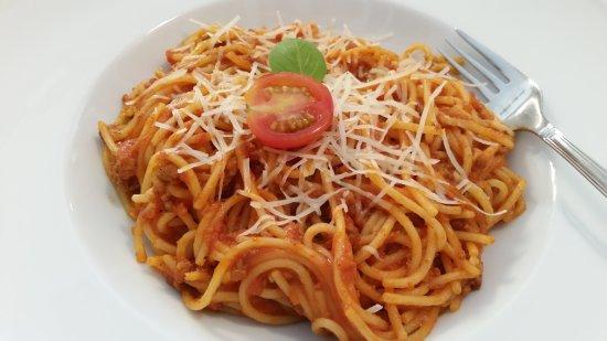 Шклярска-Поремба, Польша: Spaghetti po bolońsku