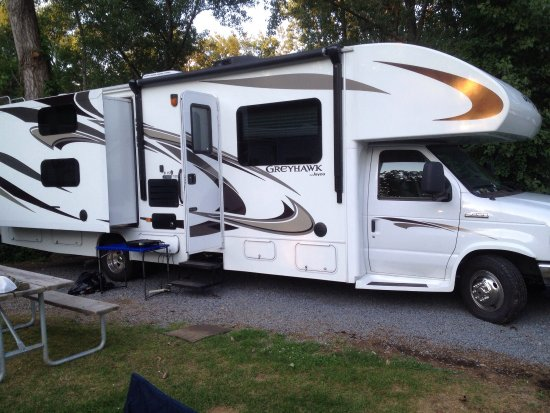 Lake George Escape Campground : Love camping LGE