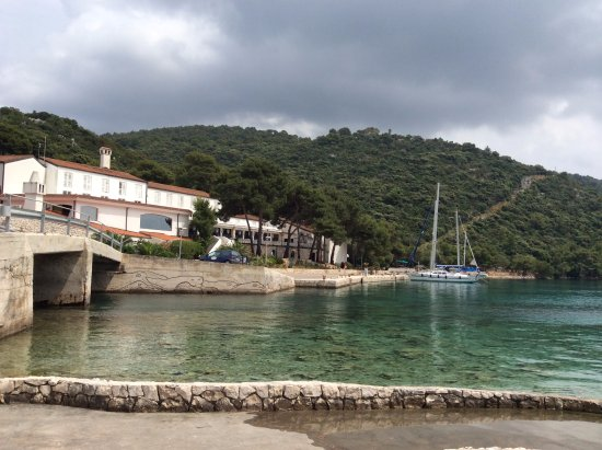 Lastovo Island, Croatie : View from hotel beach