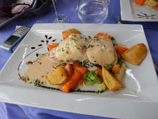 La Napoule, France : plat du jour