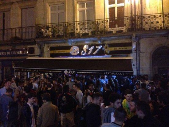 Condom, França: Bar ambiance où l'on rigole bien lors des soirées ou bien lors lors des Bandas !