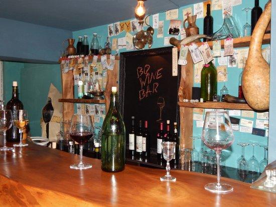 Bar counter - Picture of BQ Wine Bar, Batumi - TripAdvisor