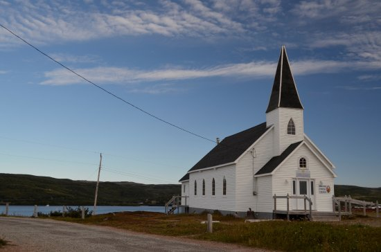 Red Bay, Canadá: Scenic Country Church
