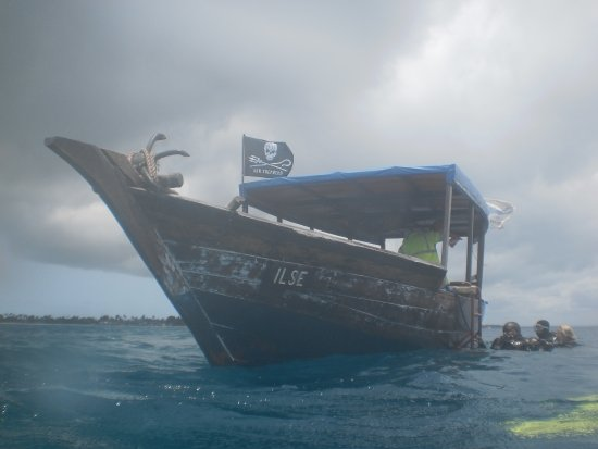"""Diving Poseidon: """"Ilse"""" oour daily transport"""
