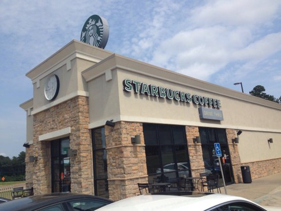 Starbucks just off i20 at Ruston