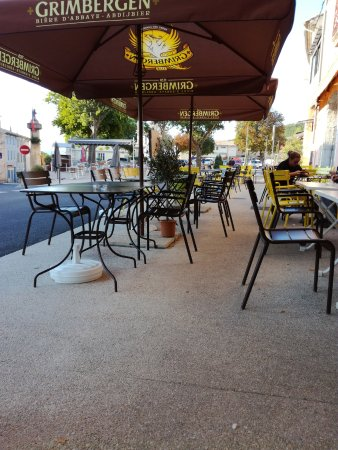 Banon, Frankrijk: terrasse de 50 places