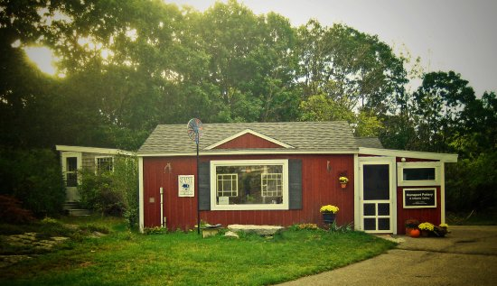 Kennebunkport, ME: Homeport Pottery & Artisans Gallery - perfectly off the beaten path!